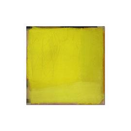 2002, Pigmente und Binder auf Leinwand, 100 x 100 cm