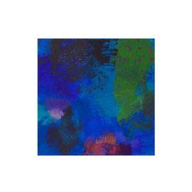2018, Pigmente und Binder auf Leinwand, 40 x 40 cm
