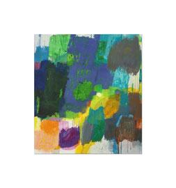 2012, Pigmente und Binder auf Leinwand, 150 x 135 cm