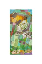 2013, Pigmente und Binder auf Leinwand, 40 x 20 cm