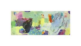 2012, Pigmente und Binder auf Leinwand, 60 x 150 cm