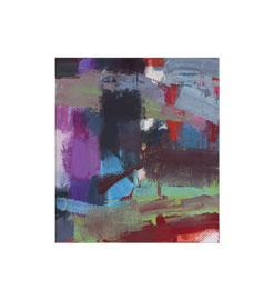 2018, Pigmente und Binder auf Leinwand, 45 x 40 cm