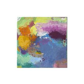 2018, Pigmente und Binder auf Leinwand, 30 x 30 cm