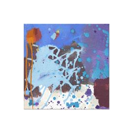 2015, Pigmente und Binder auf Leinwand, 40 x 40 cm