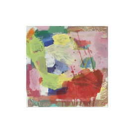 2017, Pigmente und Binder auf Leinwand, 45 x 45 cm