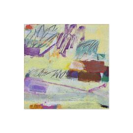2014, Pigmente und Binder auf Leinwand, 40 x 40 cm