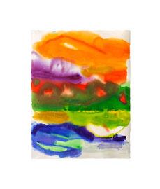 Aquarell auf Büttenpapier / 2020 / 66 x 51 cm