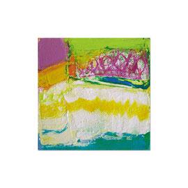 2007, Pigmente und Binder auf Leinwand, 45 x 45 cm