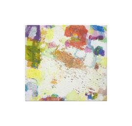 2014, Pigmente und Binder auf Leinwand, 70 x 75 cm