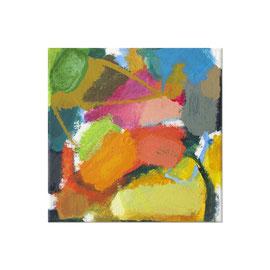 2017, Pigmente und Binder auf Leinwand, 30 x 30 cm