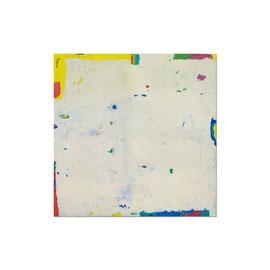 2005, Pigmente und Binder auf Leinwand, 125 x 125 cm
