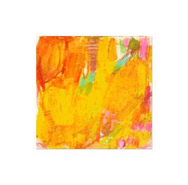 2010, Ölkreide auf Papier, 15 x 16 cm