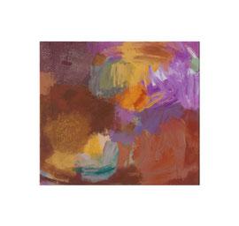 2019, Pigmente und Binder auf Leinwand, 45 x 50 cm