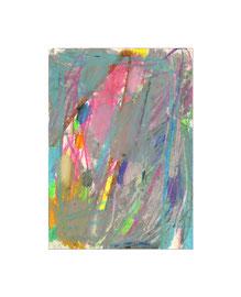 2010, Ölkreide auf Papier, 21 x 15 cm
