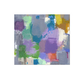 2017, Pigmente und Binder auf Leinwand, 45 x 50 cm