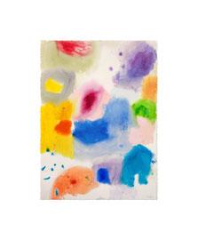 Aquarell auf Büttenpapier / 2021 / 76 x 56 cm