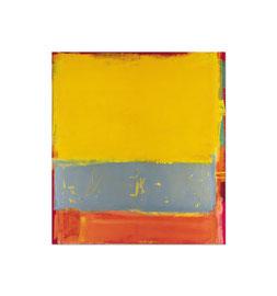 2001, Pigmente und Binder auf Leinwand, 155 x 140 cm