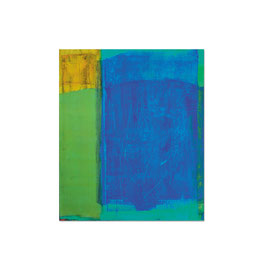 2002, Pigmente und Binder auf Leinwand, 130 x 110 cm