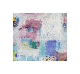 2012, Pigmente und Binder auf Leinwand, 80 x 90 cm