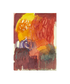 Aquarell auf Büttenpapier / 2020 / 38 x 28 cm