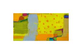 2006, Pigmente und Binder auf Leinwand, 100 x 200 cm
