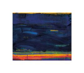 2005, Pigmente und Binder auf Leinwand, 130 x 160 cm