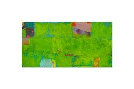 2007, Pigmente und Binder auf Leinwand, 100 x 200 cm