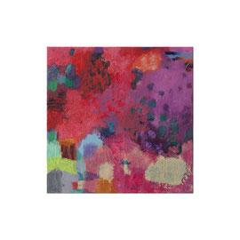 2016, Pigmente und Binder auf Leinwand, 40 x 40 cm