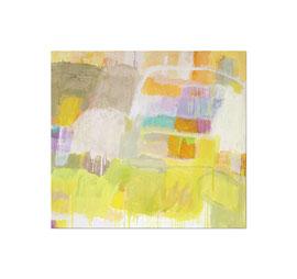 2013, Pigmente und Binder auf Leinwand, 100 x 110 cm