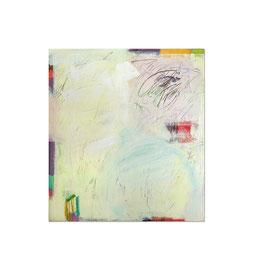 2003, Pigmente und Binder auf Leinwand, 155 x 140 cm