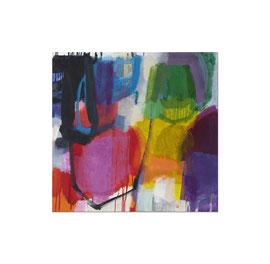 2015, Pigmente und Binder auf Leinwand, 100 x 104 cm