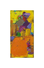 2012, Pigmente und Binder auf Leinwand, 40 x 20 cm