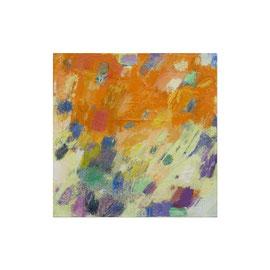 2017, Pigmente und Binder auf Leinwand, 40 x 40 cm