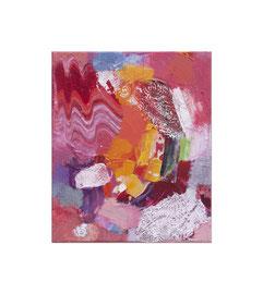 2017, Pigmente und Binder auf Leinwand, 30 x 25 cm