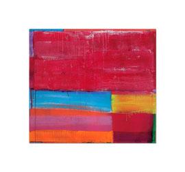 2004, Pigmente und Binder auf Leinwand, 140 x 155 cm