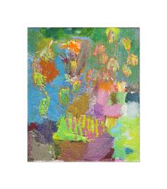 2011, Pigmente und Binder auf Leinwand, 30 x 25 cm