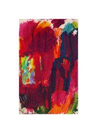2009, Ölkreide auf Papier, 25 x 15 cm