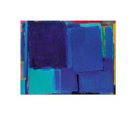 2001, Pigmente und Binder auf Leinwand, 155 x 200 cm