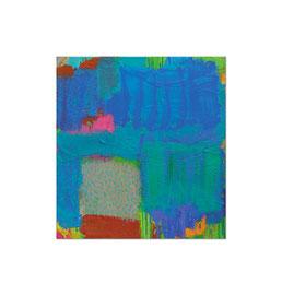 2008, Pigmente und Binder auf Leinwand, 75 x 70 cm