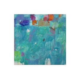 2012, Pigmente und Binder auf Leinwand, 150 x 155 cm