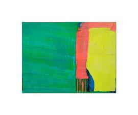 2004,  Collage (Pigmente und Binder auf Papier auf Holz), 85 x 64 cm