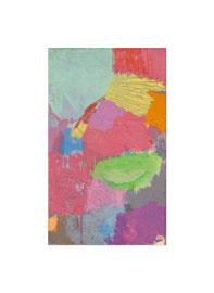 2017, Pigmente und Binder auf Leinwand, 50 x 30 cm