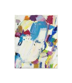 2017, Pigmente und Binder auf Leinwand, 30 x 24 cm