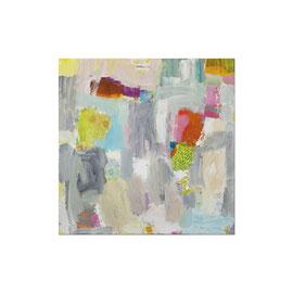 2012, Pigmente und Binder auf Leinwand, 100 x 100 cm