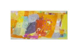 2012, Pigmente und Binder auf Leinwand, 75 x 150 cm