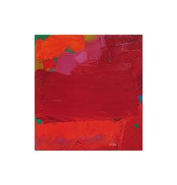 2007, Pigmente und Binder auf Leinwand, 75 x 70 cm