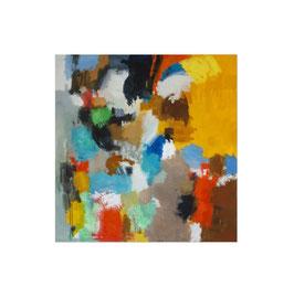 2021, Pigmente und Binder auf Leinwand, 160 x 155 cm