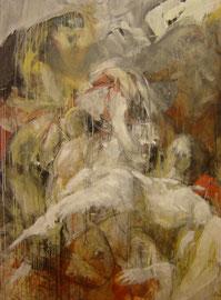 Composizione (Pietà) 197x140cm 4.'08