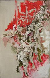 Bozzetto per quadro barocco  53x82cm    10'07