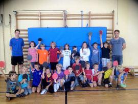 Die Tischtennis-AG der Pestalozzischule